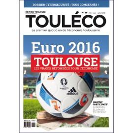 Touléco n°26 le Mag - Toulouse et l'Euro 2016