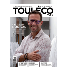 ToulÉco Tarn n°37 le Mag - Stephan Mongrand « l'IUT de Castres encourage l'entrepreneuriat local»