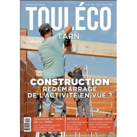 TOULECO TARN n° 19 - Construction redémarrage de l'activité en vue?