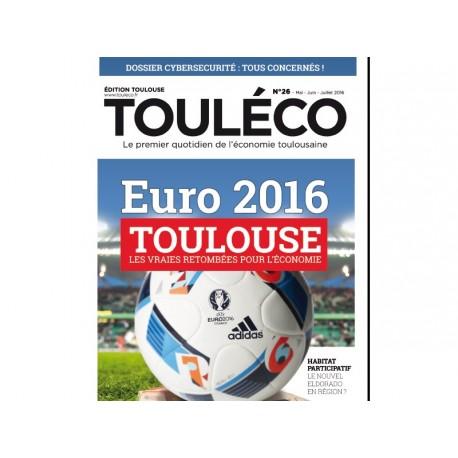 Touléco n°26 le Mag - Toulouse et l'Euro 2016 - Version numérique