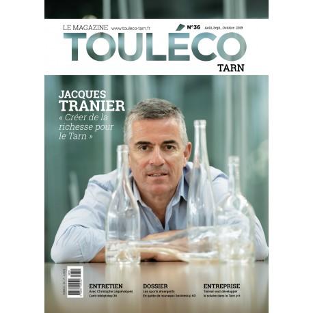 ToulÉco Tarn n°36 le Mag - L'interview de Jacques Tranier