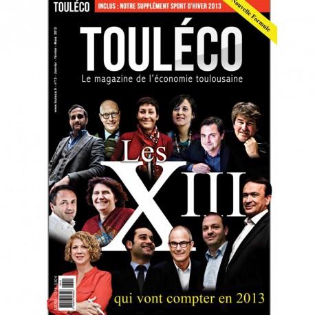 N°13 Les XIII qui vont compter en 2013